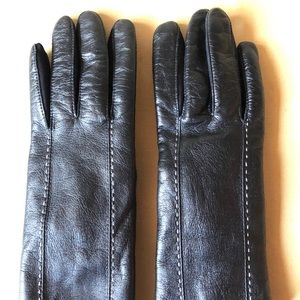 Isotoner Womens XL black gloves